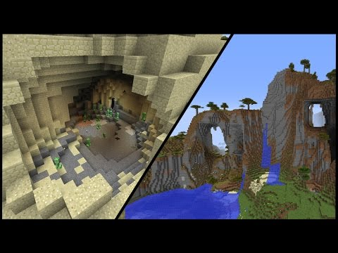 Creeper Cave Seed - Minecraft 1.8 Seed Review
