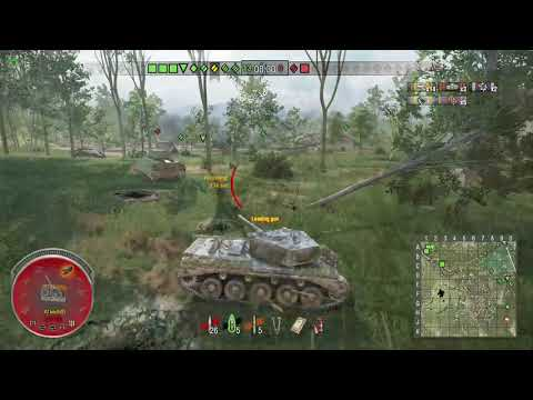 World of Tanks Xbox one Banshee Comet 4 Kills (first game)