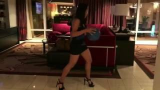 Beautiful Ballers TV - Showing Off Her Handles In Heels and a Dress!!