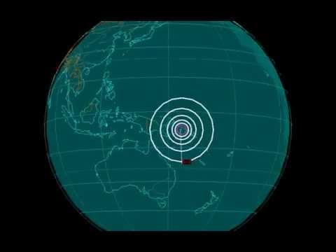 EQ3D ALERT: 7/21/16 - 5.3 magnitude earthquake in the Solomon Sea