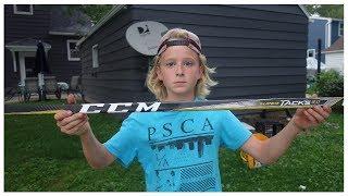 Training with the CCM Super Tacks 2.0 Hockey Stick
