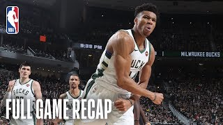 RAPTORS vs BUCKS | Giannis Leads Milwaukee From Start to Finish | Game 2