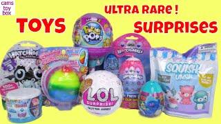 LOL Surprise Toys Glitter ULTRA RARE Pikmi POPS 2 Hatchimals 3 Twins Unicorn Poo Squish Ums Pets Kid