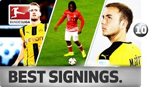 Top 10 Transfers - The 2016/17 Seasons's Best Summer Signings