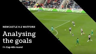 Analysing the goals | Newcastle United 0-2 Watford