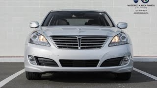 Overview: 2014 Hyundai Equus Signature - Features & Options