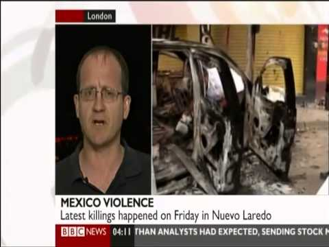 Mexico Beheadings - Drug Cartels (BBC News)