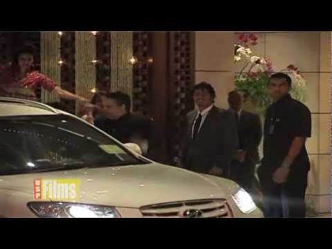 Cars at Mukesh Ambani Party