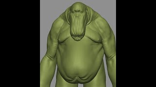 Speed sculpting a freaky creature in Zbrush