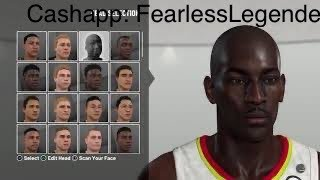 Kevin Garnett NBA 2K19 Creation
