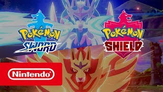 Pokémon Sword & Pokémon Shield — обзорный трейлер (Nintendo Switch)