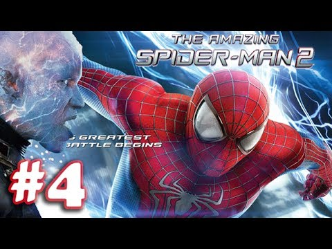 The Amazing Spider Man 2 - Movie Game Walkthrough (1080p) - Part 4 (ios) video