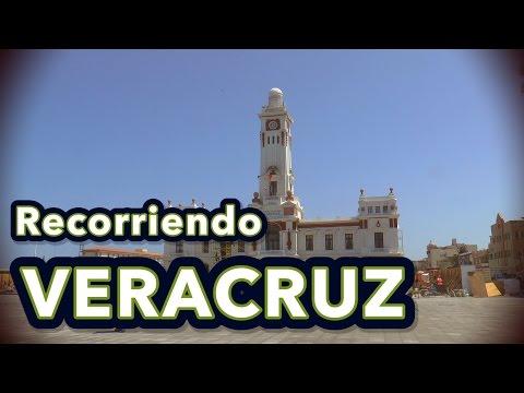 Recorriendo cinco ciudades de Veracruz, México