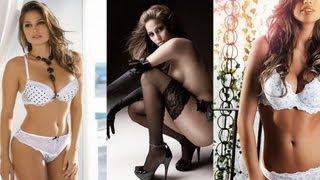 Isabela Soncini is Hot in White & Black Lingerie