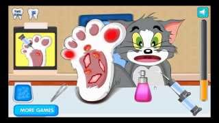 Tom and Jerry Cartoon Games | Tom and Jerry Foot Injured | Tom and Jerry Games