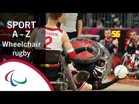 Paralympic Sports A-Z: Wheelchair Rugby