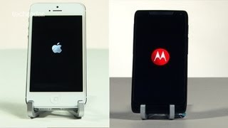 Motorola Razr i vs iPhone 5 Speed Test Comparison