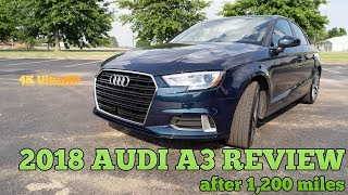2018 Audi A3 Review After 1,200 Miles