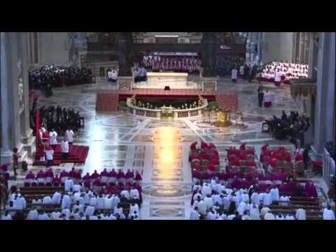 Raw: Pope Presides Over Good Friday Mass