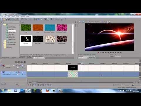 How to Make a Cool Professional Space Intro in Sony Vegas Pro 13/12