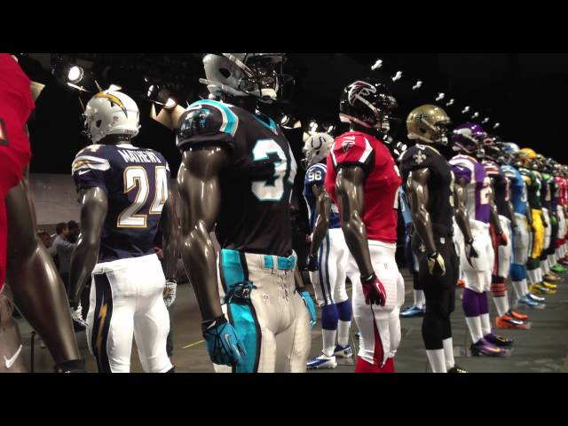 NIKE NFL New Uniforms