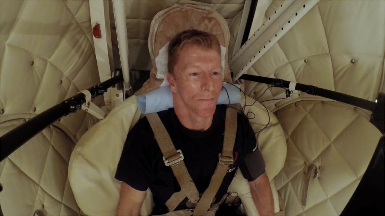 Tim's video diary: 8G spin in the centrifuge - Tim Peake: How to be an Astronaut - BBC Two