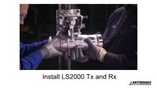 Upgrading OPECL to FlexSight™ LS2000 line-of-sight IR gas detector