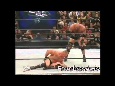 Wrestelmania 20 Brock Lesner Vs Goldberg Highlights video