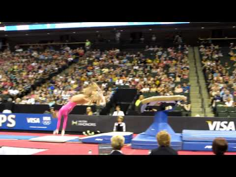Brenna Dowell - 2011 Visa Championships - Vault day 2