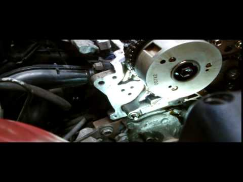TOYOTA VVTI TIMING CHAIN REPLACMENT.PART1