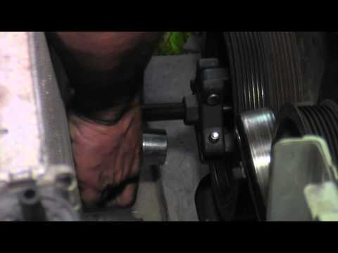 2002 Dodge Intrepid 2.7l water pump part C still tearing down...badly...