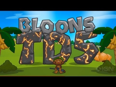 Bloons TD5 - iOS Launch Trailer