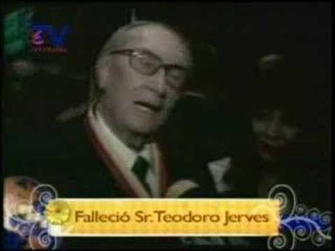 Homenaje postumo Sr. Teodoro Jerves