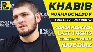 Khabib Nurmagomedov Names GSP, Ferguson, Mayweather as Possible Last 3 Fights!