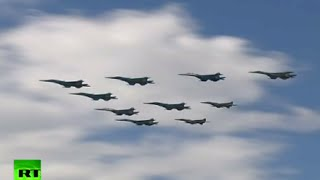 Victory70: Air Force conducts first rehearsal of V-day parade in Moscow
