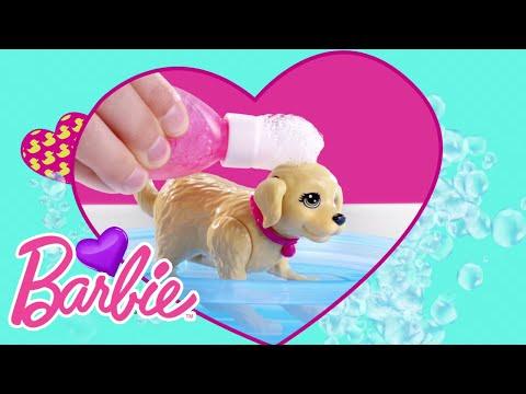 Barbie® Splish Splash Pup™ Playset | Barbie