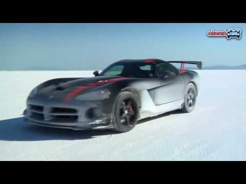 2008 Dodge Viper ACR: From LA to Bonneville Video