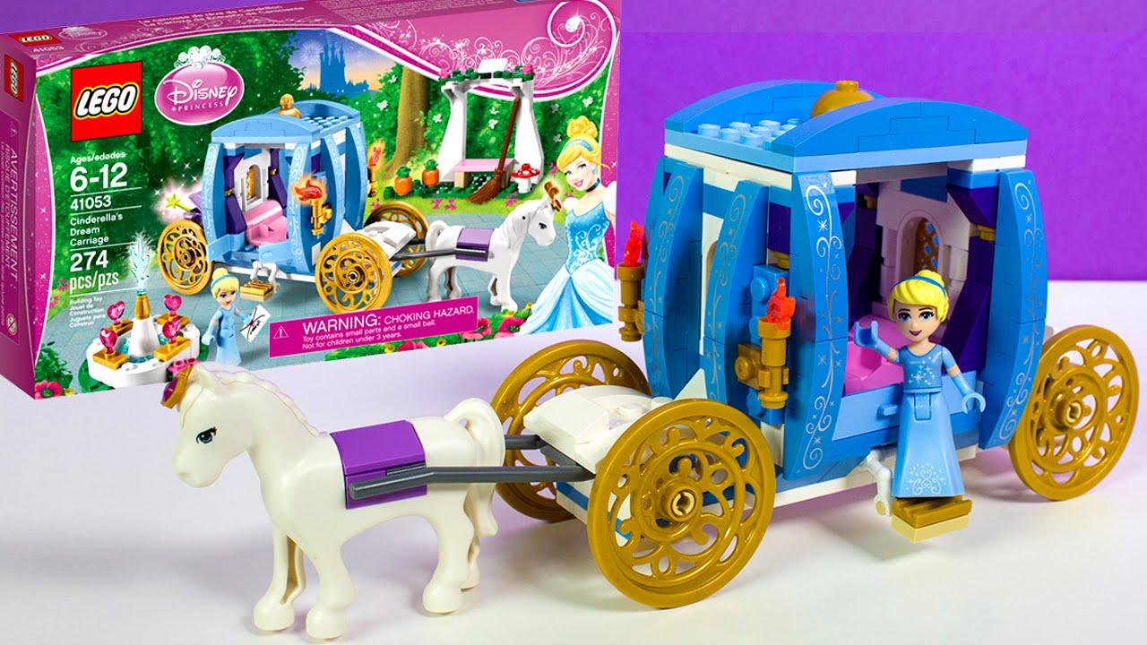 Toys For Romance : Lego disney princess cinderella s dream carriage