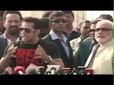 Feku Modi does Vote Bank Politics by calling Salman Khan for Kite Flying