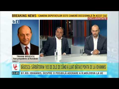 Disputa intre Mirel Palada si Traian Basescu