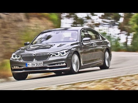 2016 BMW 7 Series Long Wheelbase 750Li xDrive G12 - Footage