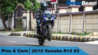 Yamaha R15 V3.0 - Pros & Cons | MotorBeam