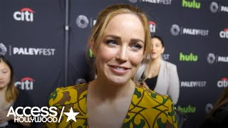 Caity Lotz On The Return Of Wentworth Miller's Captain Cold In 'Legends Of Tomorrow'
