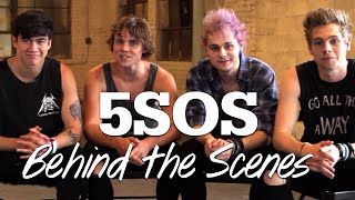 5SOS - Behind the Scenes Photoshoot!! #17Stars