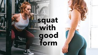 How to Squat Properly - Form Fixes + Tips + Myths
