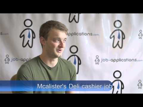 Mcalister's Deli Interview - Cashier