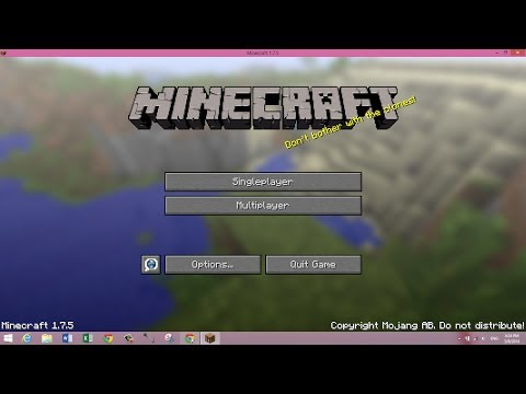 How To Get Minecraft 1.7.7 For FREE On PC! Full Version. Auto-Update & Easy!
