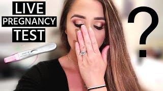 *EMOTIONAL & SHOCKING* LIVE PREGNANCY TEST RESULTS! | Liza Adele