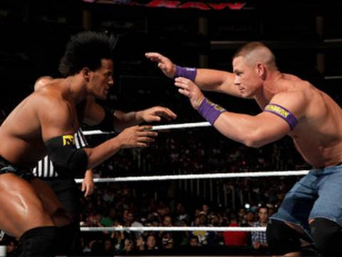 John Cena And Darren Young John Cena vs Darren Young