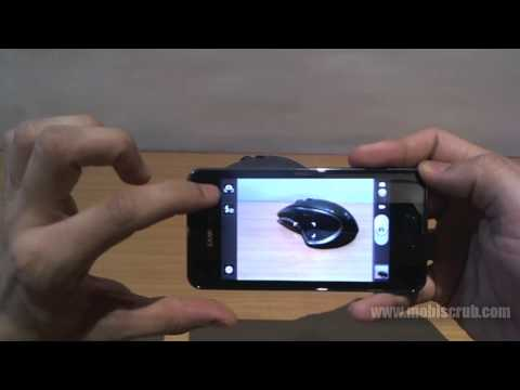 Samsung Galaxy S Advance camera review video